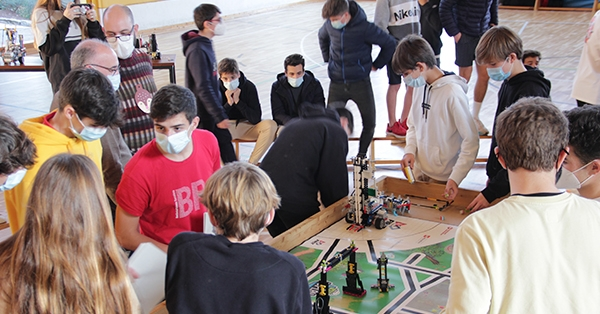 A 4t ESO celebrem la Micro First Lego League